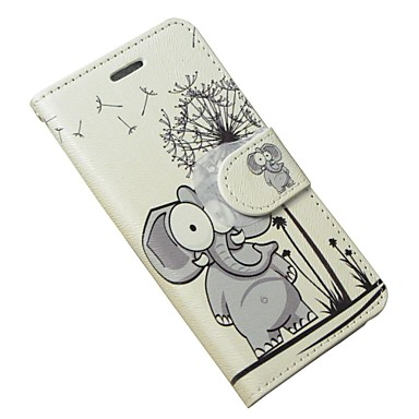 Kılıf Na Samsung Galaxy Etui na karty Portfel Z podpórką Flip Pełne etui Słoń Miękkie Skóra PU na S Advance Grand Neo
