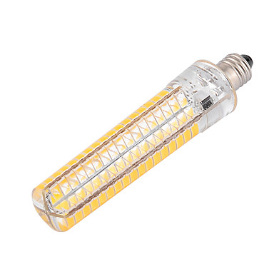 ywxlight® e11 led 옥수수 조명 136 smd 5730 1200-1400 lm 따뜻한 흰색 차가운 흰색 dimmable 장식 ac 110v / 220v 1pc