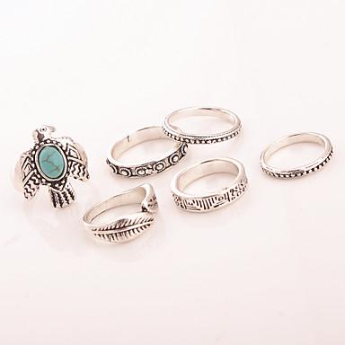 Γυναικεία Βέρες Δαχτυλίδι Κοσμήματα Τυρκουάζ Κράμα Κοσμήματα Πάρτι Καθημερινά Causal
