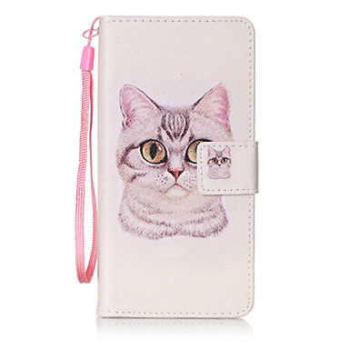tok Για Samsung Galaxy A5(2016) A3(2016) Πορτοφόλι Θήκη καρτών Ανοιγόμενη Με σχέδια Πλήρης κάλυψη Γάτα Σκληρή PU Δέρμα για A5(2016)