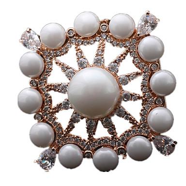 Γυναικεία Καρφίτσες Μαργαριτάρι Χρυσό Ασημί Χρυσαφί Κοσμήματα Καθημερινά