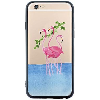 Için Temalı Pouzdro Arka Kılıf Pouzdro Hayvan Yumuşak Akrilik için Apple iPhone 6s Plus/6 Plus / iPhone 6s/6 / iPhone SE/5s/5