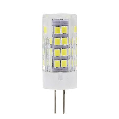 450 lm G9 G4 LED kukorica izzók T 51 led SMD 2835 Dekoratív Meleg fehér Hideg fehér AC 220-240V