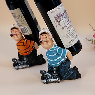 Σχάρες Κρασιών Ξύλο,13*9*17.5CM Κρασί Αξεσουάρ