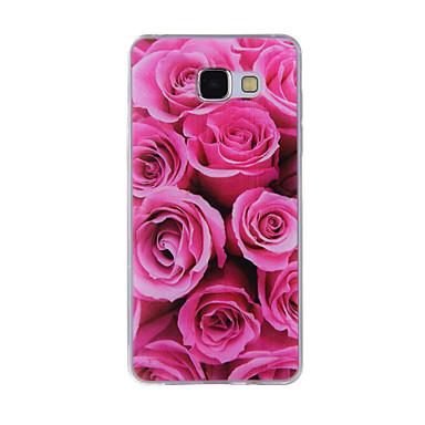 tok Για Samsung Galaxy A5(2016) A3(2016) Με σχέδια Πίσω Κάλυμμα Λουλούδι Μαλακή TPU για A8(2016) A5(2016) A3(2016) A8 A7 A5 A3