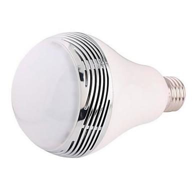 E26/E27 LED Έξυπνες Λάμπες G80 20 SMD 5050 400 lm RGB κ Bluetooth Με ροοστάτη Διακοσμητικό AC 85-265 V
