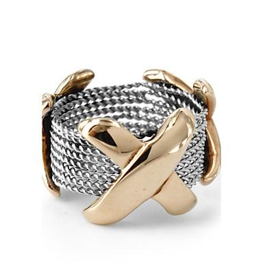 للرجال للمرأة خاتم موضة الفولاذ المقاوم للصدأ مجوهرات من أجل زفاف حزب يوميا فضفاض