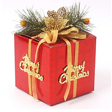 10cm mini hediye kutusu chrismas ağaç asılı süsleme yılbaşı ağacı yılbaşı süsleri ücretsiz gönderim