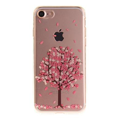 Kılıf Na Apple iPhone 6 iPhone 7 IMD Czarne etui Kwiaty Miękkie TPU na iPhone 7 iPhone 6s iPhone 6