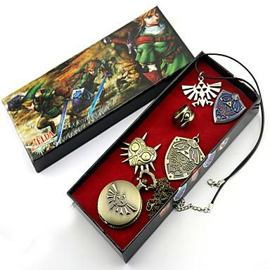 Óra/Karóra Jelkép Még több kiegészítő Ihlette Zelda legendája Láncszem Anime Szerepjáték Kiegészítők Óra/Karóra Nyakláncok Jelkép Ötvözet