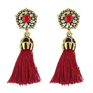 Damskie Kolczyki wiszące Rhinestone Stop Biżuteria Impreza Codzienny Casual