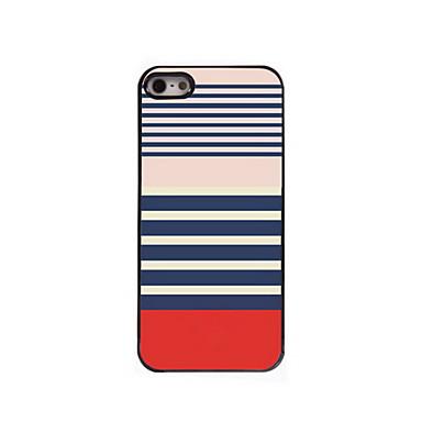 caso difícil de alumínio design de pá para iPhone 5 / 5s