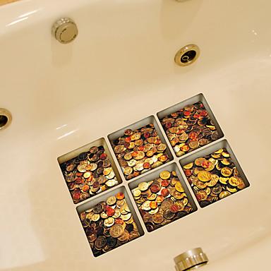 Moda Naklejki Naklejki ścienne lotnicze Naklejki toaleta, Winyl Dekoracja domowa Naklejka Toaleta