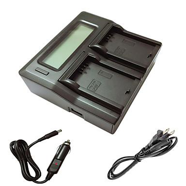 ismartdigi lpe5 LCD dual laturi auton latausjohto varten Canon EOS 500D 1000D 450d kamera batterys