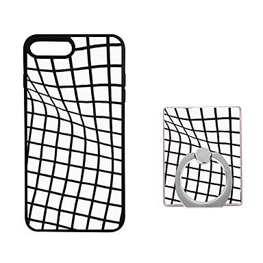 Για Βάση δαχτυλιδιών tok Πίσω Κάλυμμα tok Γεωμετρικά σχήματα Μαλακή TPU για AppleiPhone 7 Plus / iPhone 7 / iPhone 6s Plus/6 Plus /