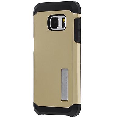 Etui Käyttötarkoitus Samsung Galaxy S7 edge S7 Iskunkestävä Takakuori Panssari Kova PC varten S7 edge S7 S6 edge S6