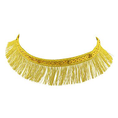نساء قلادات ضيقة مجوهرات سبيكة تصميم بسيط ذهبي فضي مجوهرات إلى يوميا فضفاض 1PC