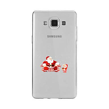 Etui Käyttötarkoitus Samsung Galaxy A5(2016) A3(2016) Kuvio Takakuori Joulu Pehmeä TPU varten A9(2016) A7(2016) A5(2016) A3(2016) A9 A8