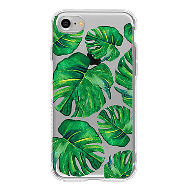 Kılıf Na Apple Etui iPhone 5 iPhone 6 iPhone 7 Ultra cienkie Przezroczyste Wzór Czarne etui Drzewo Miękkie TPU na iPhone 7 Plus iPhone 7