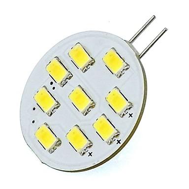 2 W 400 lm G4 LED Φώτα με 2 pin T 9 leds SMD 5730 Θερμό Λευκό Ψυχρό Λευκό DC 12V AC 85-265V