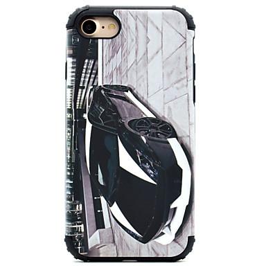 Pouzdro Uyumluluk Apple iPhone 7 iPhone 7 Plus iPhone 6 Şoka Dayanıklı Temalı Arka Kılıf Karton Sert PC için iPhone 7 Plus iPhone 7