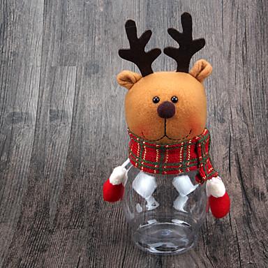 1kpl joulukoristeita jouluksi kattaukseen