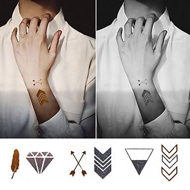 1 Dövme Etiketleri Hayvan SerileriBebek / Çocuk / Kadın / Erkek flaş Dövme geçici Dövme