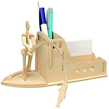 Drewniane puzzle Zabawki rybackie Zabawki Kula Rybki profesjonalnym poziomie Drewniany Dla chłopców Dla dziewczynek 1 Sztuk