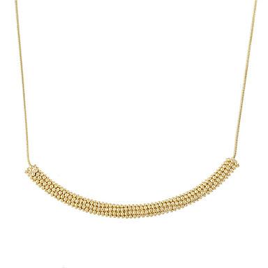 Damskie Naszyjniki z wisiorkami Biżuteria Stop Klasyczny Gold Biżuteria Na Casual 1szt