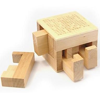 Ξύλινα παζλ / Παιχνίδια σπαζοκεφαλιές IQ / Παζλ Κονγκ Μινγκ Πρωτότυπες / Τεστ νοημοσύνης Ξύλο Αγορίστικα / Κοριτσίστικα Δώρο 1pcs