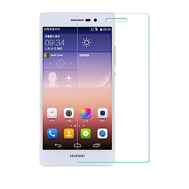 beittal® 0.26mm afgeronde rand transparant 9h gehard glas membraan screen protector voor Huawei Ascend p7