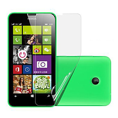 (3 stuks) high definition screen protector voor de Nokia Lumia 630/635
