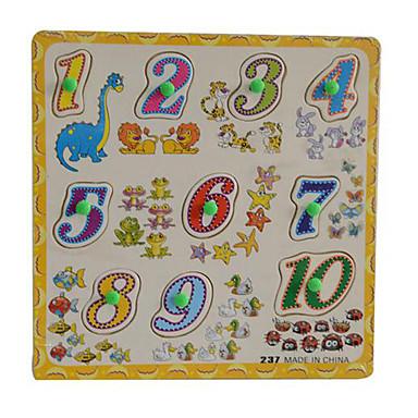 Puzzle Zabawki matematyczne Zabawka edukacyjna Kwadrat Zabawne Drewniany Dzień Dziecka Dla dziewczynek Dla chłopców Prezent