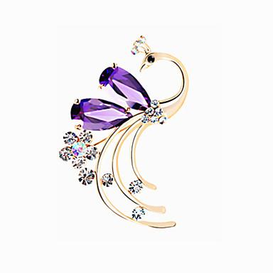 naisten koruja metalliseos violetti rintakoruja 1ps