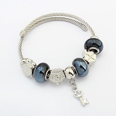Kadın Tılsım Bileklikler alaşım Moda Koyu Mavi Mücevher 1pc
