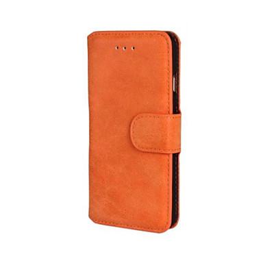 scrub pu δερμάτινο κάλυμμα γεμάτο σώμα με βάση και υποδοχή κάρτας για το iphone 6 (διάφορα χρώματα)