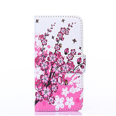 Na Portfel Etui na karty Z podpórką Flip Kılıf Futerał Kılıf Kwiat Twarde Skóra PU na Apple iPhone 6s Plus/6 Plus iPhone 6s/6