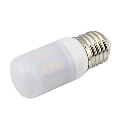 480-580lm E26 / E27 LED Λάμπες Καλαμπόκι T 27 LED χάντρες SMD 5730 Διακοσμητικό Θερμό Λευκό Ψυχρό Λευκό 85-265V