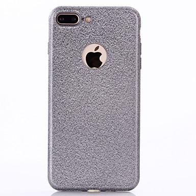 Için Kaplama Pouzdro Arka Kılıf Pouzdro Solid Renkli Yumuşak TPU için Apple iPhone 7 Plus iPhone 7 iPhone 6s Plus/6 Plus iPhone 6s/6