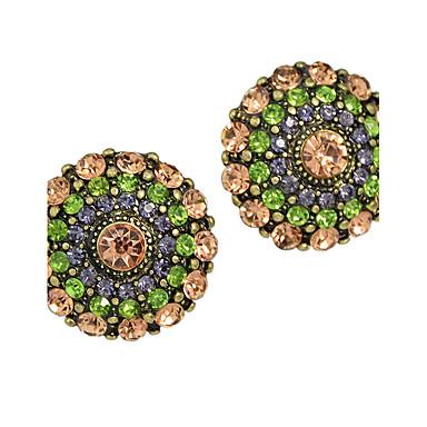 Pentru femei Cercei Stud Aliaj Bijuterii Curcubeu Casual Costum de bijuterii