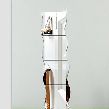 Forma 3d adesivi murali adesivi a parete specchio adesivi for Decorazioni a parete