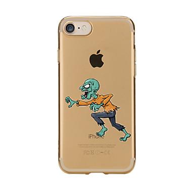Için Şeffaf / Temalı Pouzdro Arka Kılıf Pouzdro Karikatür Yumuşak TPU için AppleiPhone 7 Plus / iPhone 7 / iPhone 6s Plus/6 Plus / iPhone