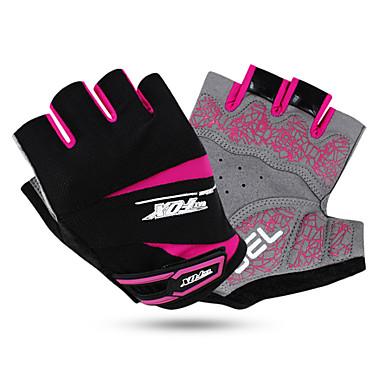 Rękawiczki sportowe Quick Dry Zdatny do noszenia Oddychający Odporny na wstrząsy Bez palców Mesh Lycra Kolarstwo / Rower Dla obu płci