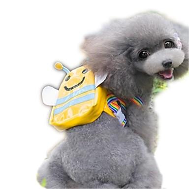 Γάτα Σκύλος Dog Pack Κατοικίδια Αντικείμενα μεταφοράς Φορητό Cute Κίτρινο