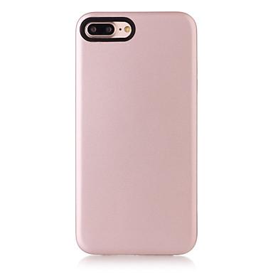 Varten IMD Etui Takakuori Etui Yksivärinen Pehmeä TPU varten Apple iPhone 7 Plus iPhone 7 iPhone 6s Plus/6 Plus iPhone 6s/6