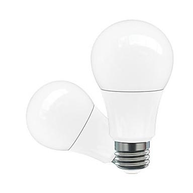 1PC 5W 500-600 lm E26/E27 مصابيح كروية LED A60(A19) 5 الأضواء طاقة عالية LED ديكور أبيض دافئ أبيض كول أبيض طبيعي زهري أخضر أصفر أزرق أحمر