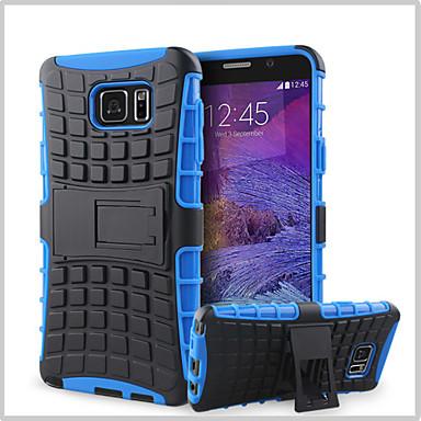 hoesje Voor Samsung Galaxy Samsung Galaxy Note Portemonnee / Schokbestendig / met standaard Achterkant Schild PC voor Note 5