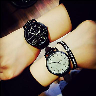 Pentru femei Quartz Ceas de Mână / cald Vânzare PU Bandă Vintage Casual Modă Cool Linii Negru