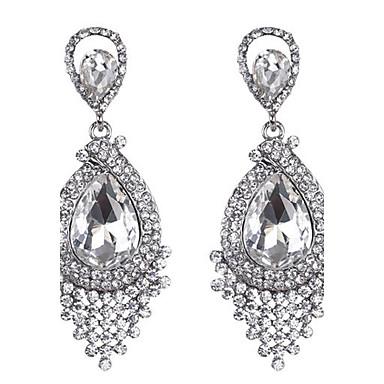Pentru femei Cercei Picătură Sapphire sintetic Cristal Picătură Bijuterii Nuntă Petrecere Zilnic Costum de bijuterii