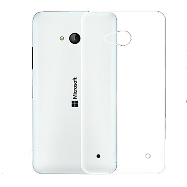Voor Nokia hoesje Ultradun / Transparant hoesje Achterkantje hoesje Effen kleur Zacht TPU NokiaNokia Lumia 930 / Nokia Lumia 640 / Nokia